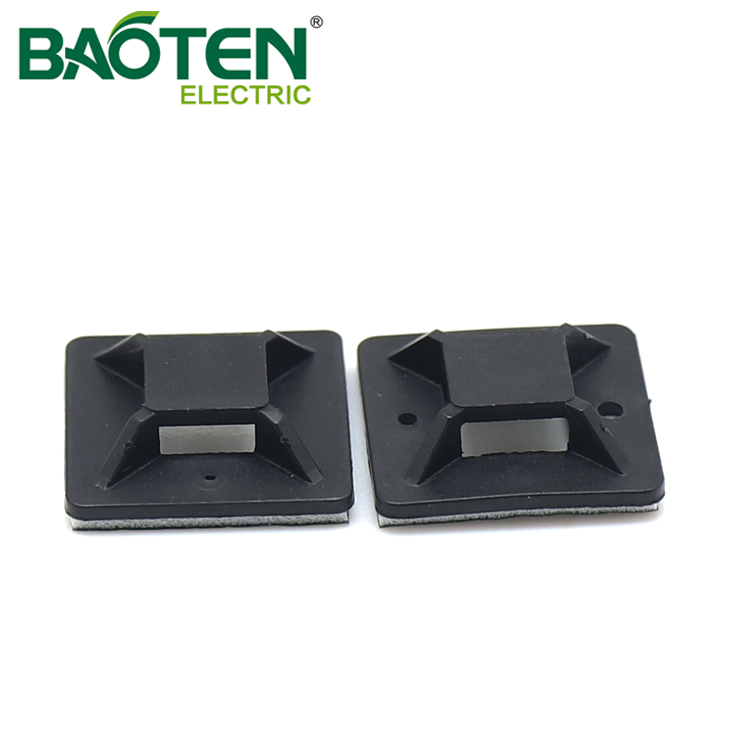 BAOTENG BT high quality plastic Cable Tie Mounting Base tm push Tie Mounts