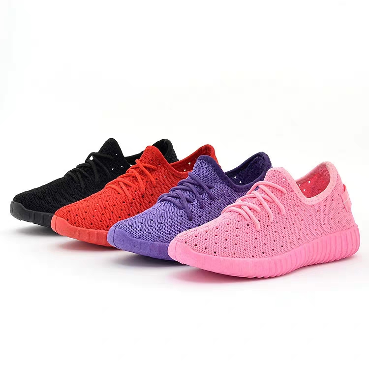china women shoes factory light weight ladies flat casual shoes sports