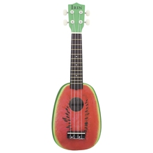 21 inch 4 String Hawaii Basswood <span class=keywords><strong>Ukulele</strong></span> Watermeloen Ontwerp Muziekinstrument