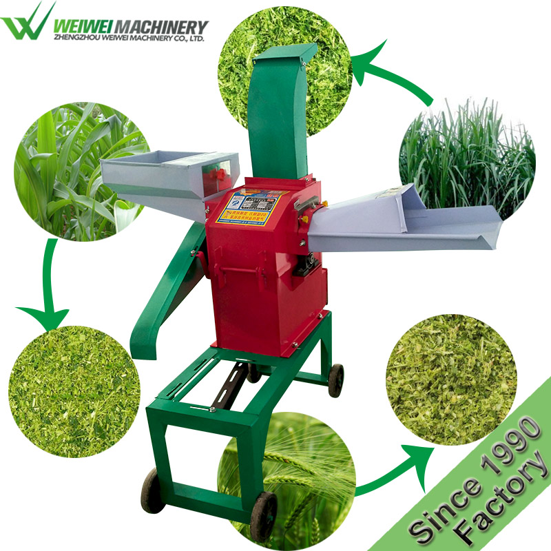 Weiwei multipurpose feed crusher china factory price cattle food for making hammer mill feed