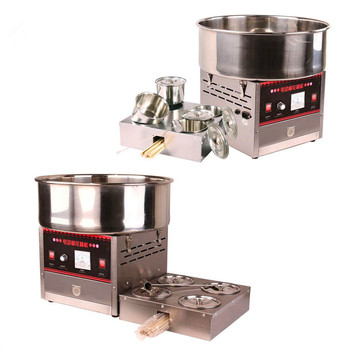 Electric desktop cotton candy making machine for snacks(whatsApp/wechat:86 15639144594)