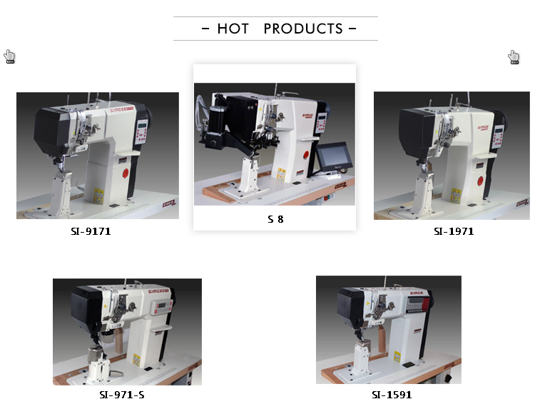 SI-1971 industriale macchina per cucire scarpe di cuoio macchina da cucire