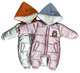 Winter Thicken Snowsuit Down Warm Newborn Baby Romper Baby Boys Girls Clothes Infant Jumpsuits Hoodies One Piece