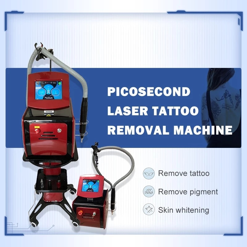 2020 Best Effect 1064nm 532nm Pigment Removal Pico Second Laser