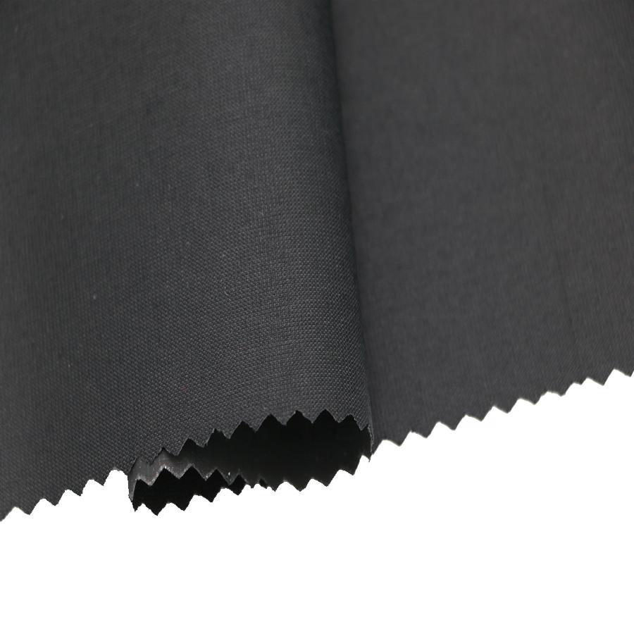 Yüksek kaliteli polyester Geri Dönüşüm Pongee Armürlü Pvc Kaplı Kumaş