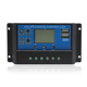 PWM 24V 12V Auto Solar Panel Battery Charge Controller 30A 20A 10A LCD Solar Collector Regulator with Dual USB Wholesale
