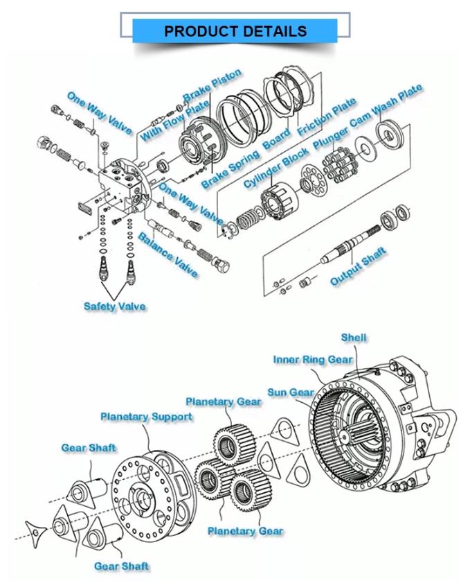 bob-cat 331 final drive motors