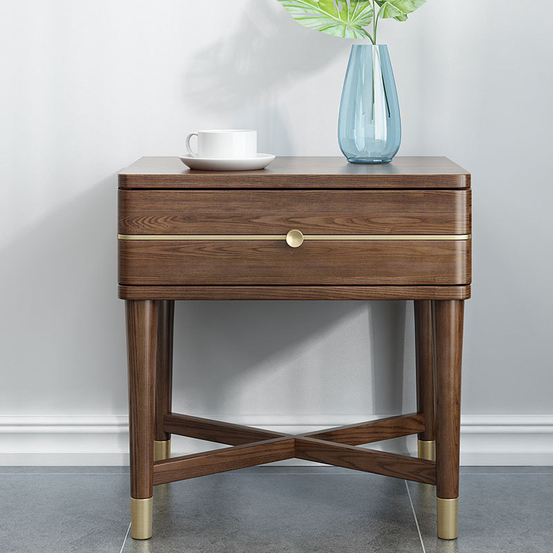 product-modern wooden bedside table nightstands newly listing latest dark color movable creative who-1