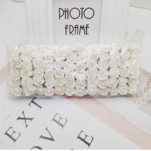 144 шт Мини бумажные розы Букет Свадебные украшения для дома аксессуары Diy Рождественский венок подарки искусственные цветы для скрапбукинг...(Китай)
