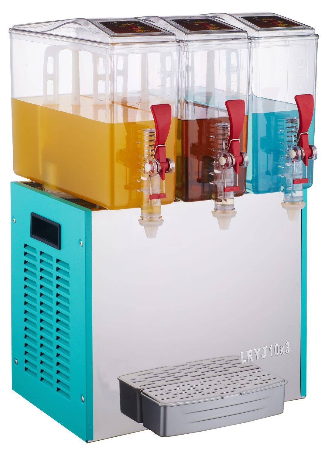 Hot or cold drink dispenser Competitive price juice dispenser Three tanks juice dispenser