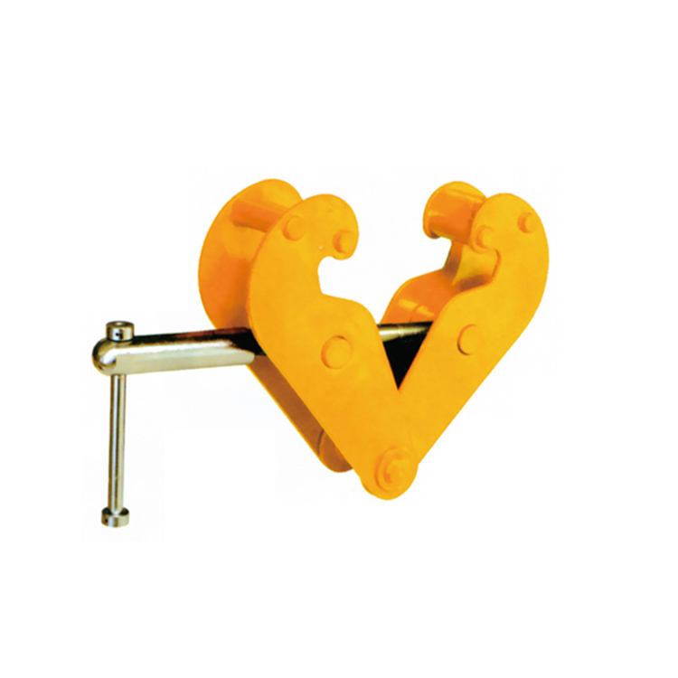 Heavy Duty Lifting steel Beam Clamp for chain block