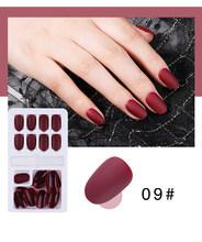 24/30 шт поддельные ногти съемные накладные ногти с желе гель клей на ногти искусство ногтей Нажмите на ногти(Китай)