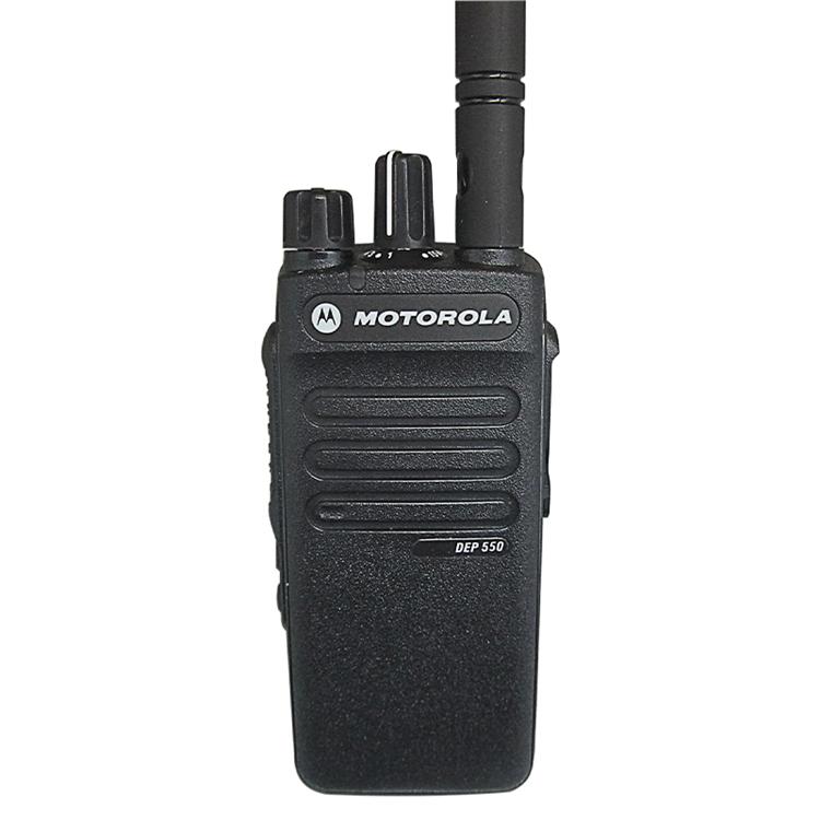 VHF Radio Motorola Antena Vhf DMR Walkie Talkie Motorola DEP550E