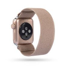 Эластичный нейлоновый ремешок в богемном стиле для Apple Watch Band 6 38 мм 40 мм 42 мм 44 мм Iwatch Series 6 5 4 3 2 сменный ремешок для часов(Китай)