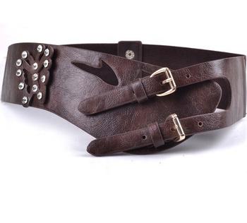 prezzo incredibile ufficiale negozio ufficiale Pelliccia Delle Signore Cintura Larga Cintura Moda Selvaggia Delle ...