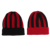 fashion Crochet acrylic winter warm beanie embroidered beanie hat