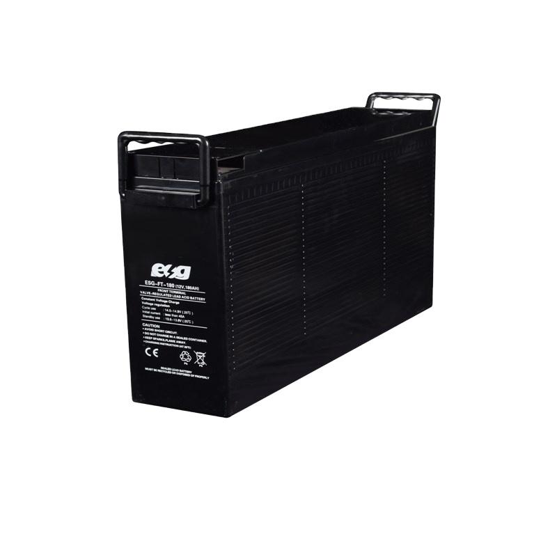 TOYO עבור שמש בית מערכת עמוק מחזור 12v100ah עופרת חומצת AGM שמש אחסון סוללה