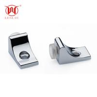 Zinc alloy seven shape glass shelf support furniture hardware