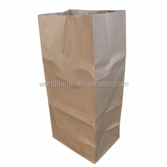 Compostable Paper Lawn And Leaf Bag For Yard Waste With Extra Size