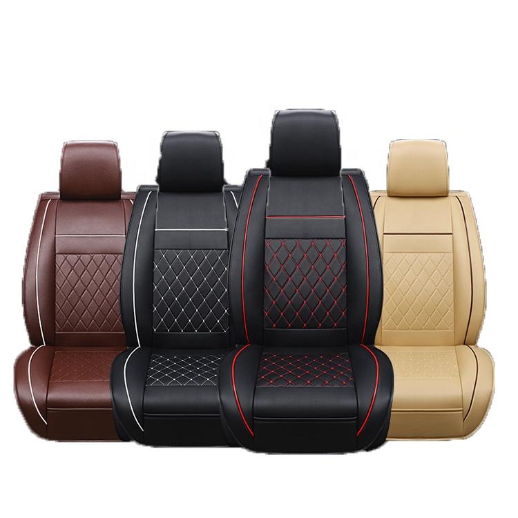 Volle set Luxus PVC Auto Sitz Abdeckung