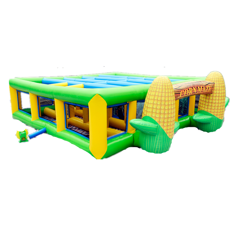 Cheap-inflatable-corn-maze-game-for-sale