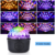USB Blue tooth Audio Crystal Magic Ball Light Starry Atmosphere Sound Remote Control Home KTV Disco Club Party Stage Night Light
