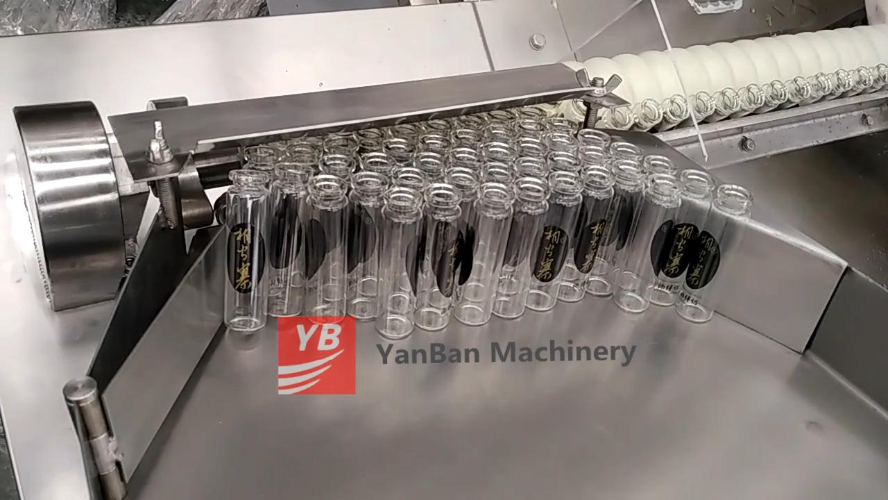 YB-K4 automatic medicine filler filling machine with conveyor pharmaceutical liquid bottling line