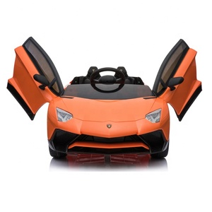 Cool Licensed Lamborghini two seater kids electronic car toys kids electric sport car in india