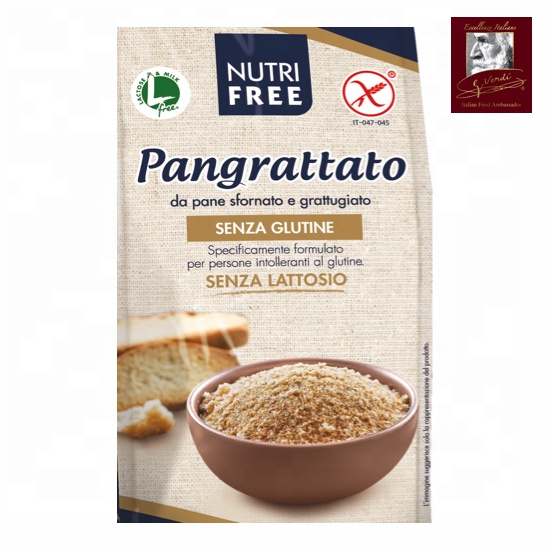 500 g Gluten Free Breadcrumb Giuseppe Verdi Selection Gluten Free Made in Italy