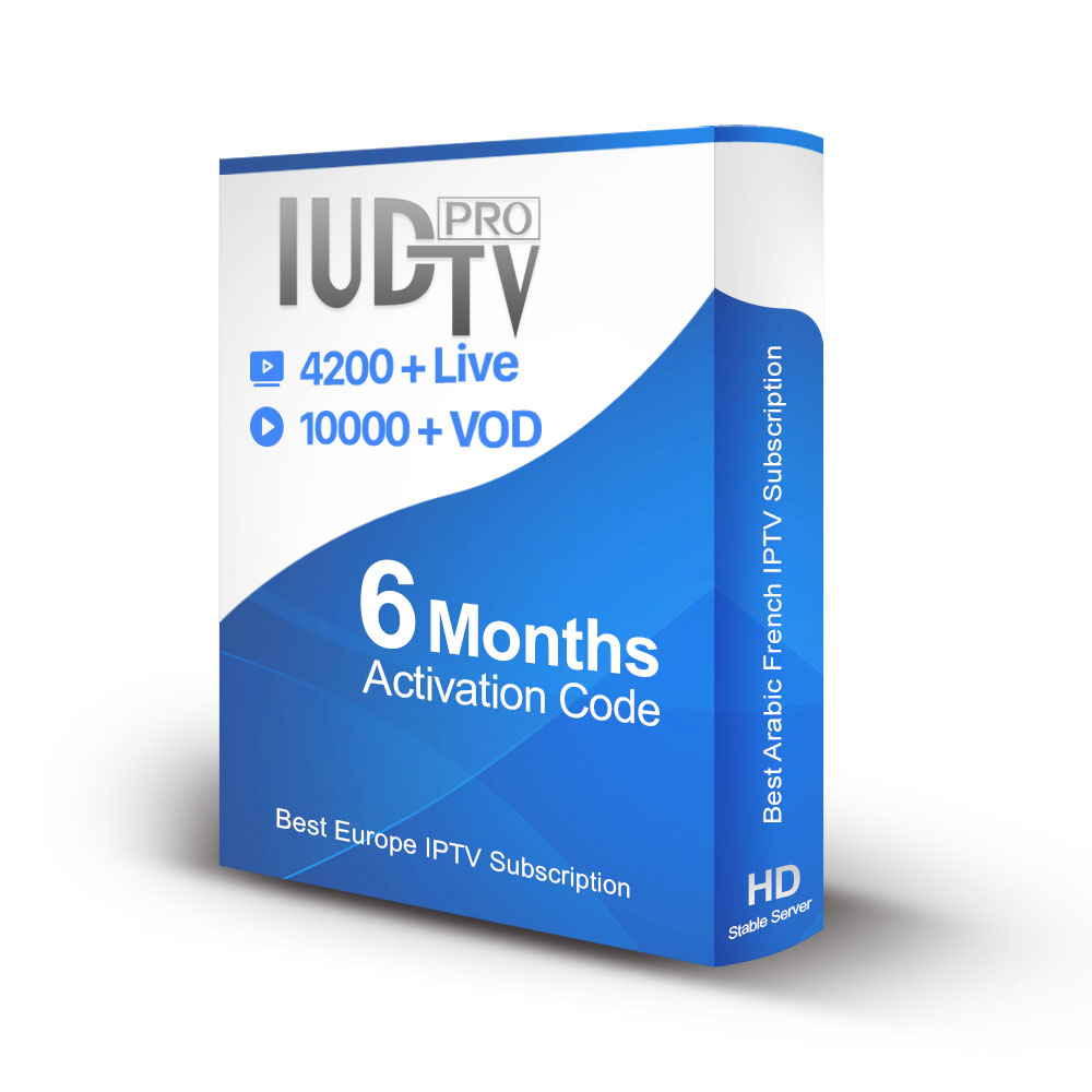 IUDTV IPTV Channels Subscription Codes 6 Months Best Eastern Europe IPTV with Ex Yu Bulgarian and Czech Channels фото