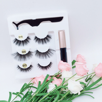 2019 Most Popular Product Magnetic Eyeliner Lashes Silk Korea Private Label Eyelashes With Magnetic Eyeliner