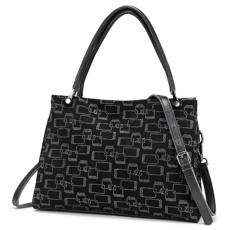 REALER женские сумки из натуральной кожи, большая вместительность, сумки-тоут, высокое качество, женские сумки на плечо, с принтом животных, сум...(Китай)