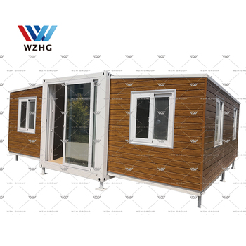2 bedroom cheap living prefab expandable container house luxury homes for sale