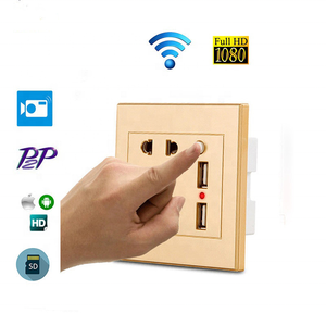 New 2019 Products HD Wireless 1080P SD/TF Card Best Wall Socket Hidden WIFI Spy CCTV Camera Mini USB Small Charger Camera