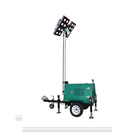 TMN8310 High stability lift type mobile truck mounted led work light tower