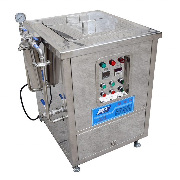Industrial Machines Automatic Ultrasonic Piezoelectric Transducer Mechanical Cleaning Equipment