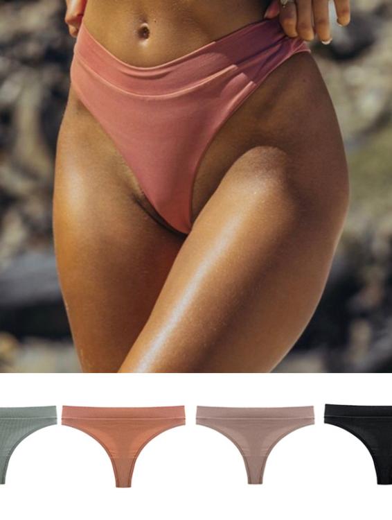 10 renk toptan muhtelif Bikini bayanlar spor iç çamaşırı % 100% pamuk kızlar boş külot thongs külot boxer