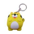 Key Chain Factory No Minimum Custom 2D 3D Rubber Soft Pvc Resin Designers Keychain For Phone Case Accessories