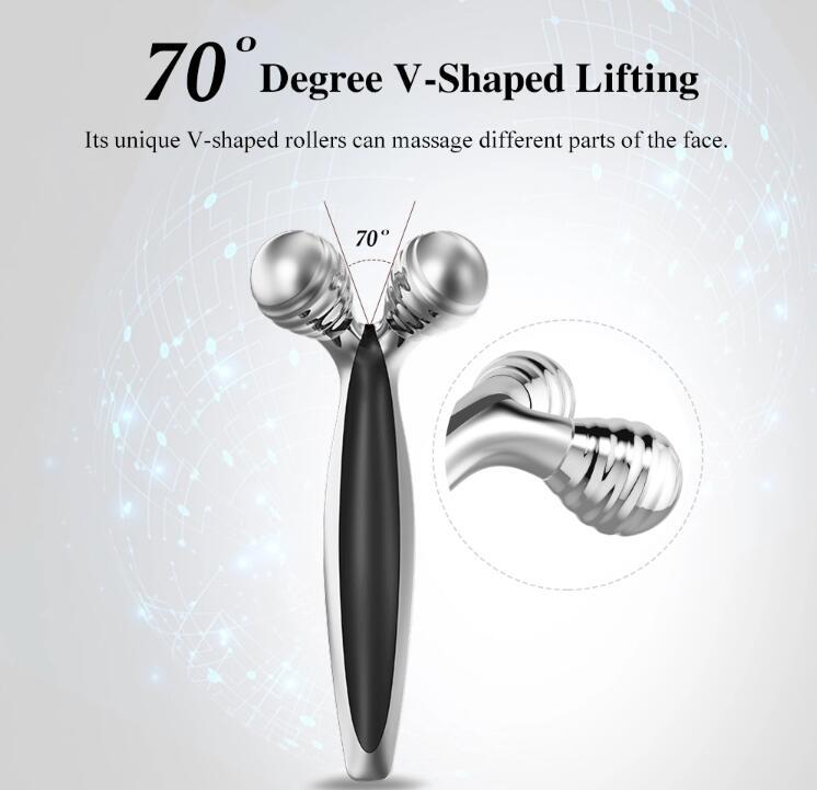 3D Roller Face Massager Face Lift Tool Firming Beauty Massage Body Face Massager