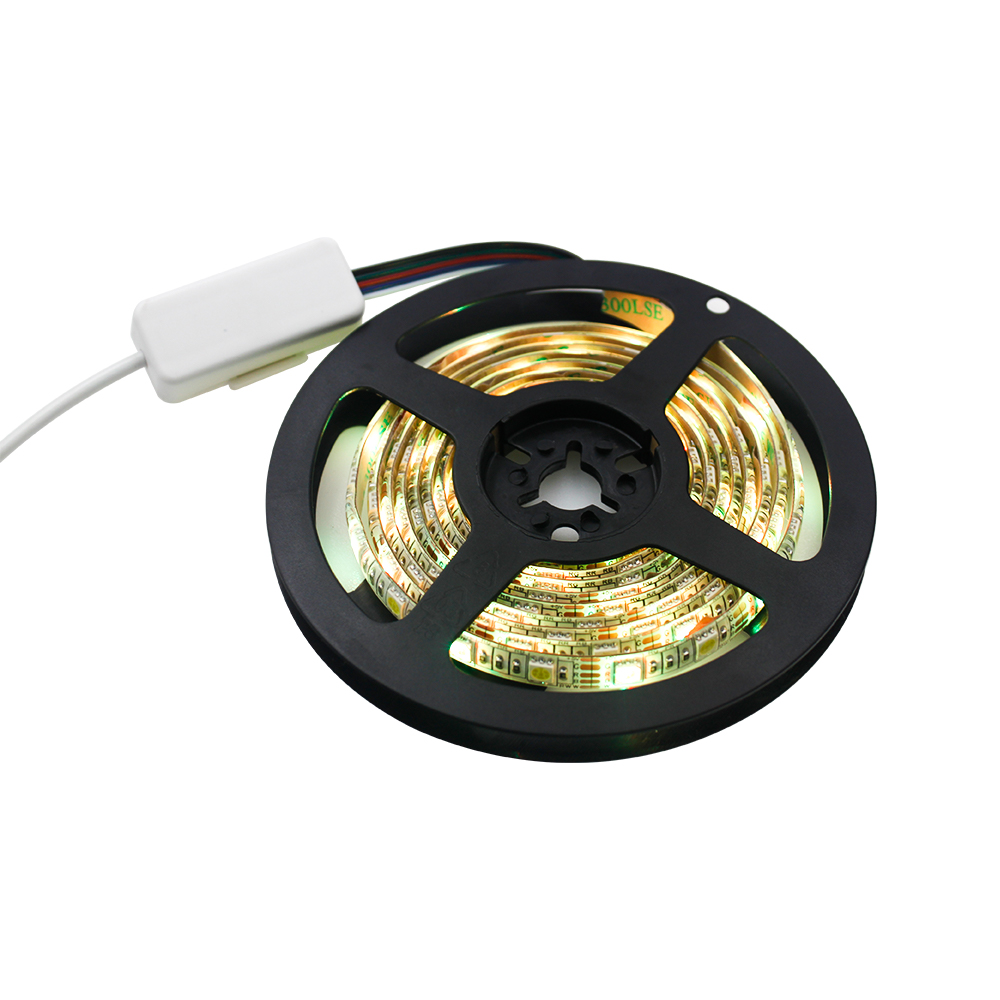 Smart WiFi LED Strip Lights Works with Alexa 12V  WiFi Flexible LED Strip 5050 RGBW Sync Music Mood 32.8 ft LED Strip Light