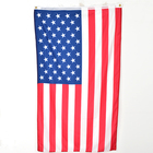 Hot sale United States printed national American flags for decor
