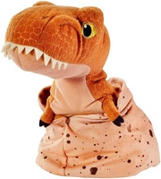 Plush Tyrannosaurus Rex orange color dinosaur plush custom logo Stuffed T-Rex dinosaur toy plush dinosaur soft toy
