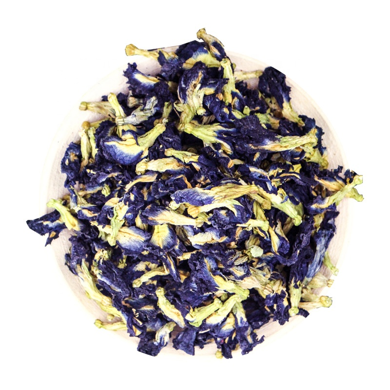 Wholesale Premium Dried Blue Butterfly Pea Flower Tea Health Herbs Non-GMO - 4uTea | 4uTea.com