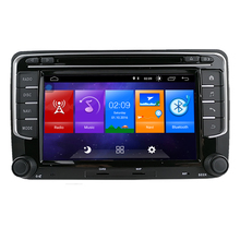 OEM doppel din 7 inch screen gps navigation mp5 android 10 auto dvd player für vw polo golf