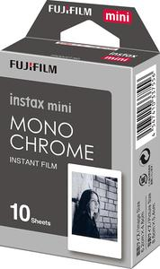 Mini Size Fujifilm instax mini instant film Mono Chrome 10 sheets portable film travel memory record