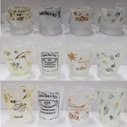 Gifts OEM Low Price Personalized Printed Painting Frosted Souvenir Shot Glass Promotion Creative Gifts Crafts Mini Shot Glass Cup