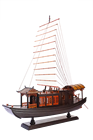 Chinese handicraft art craft ancient boat model best gift for business partner