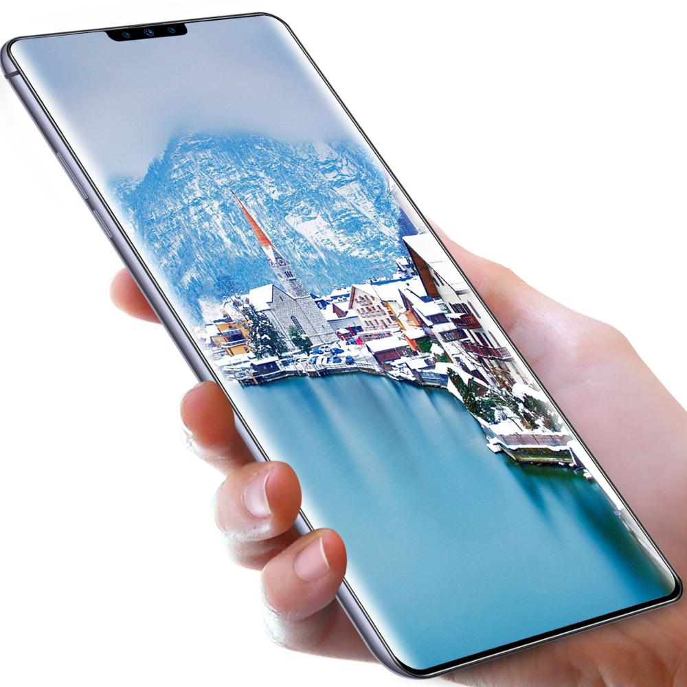 Top selling Mate30pro 6.7 inch touch big screen 8+256G Face Access unlock android OEM smartphone