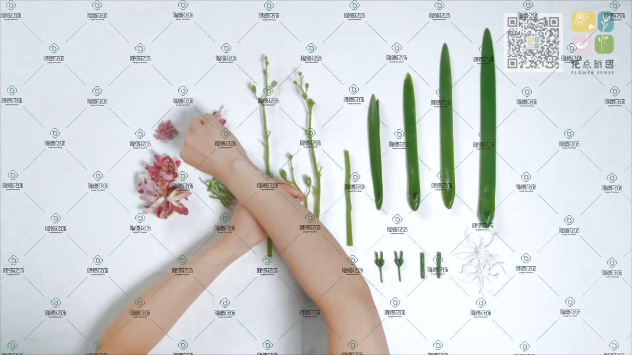 Produsen Harga Bunga Buatan Diy Paling Inovatif Buatan Bunga Dendrobium DIY2004W