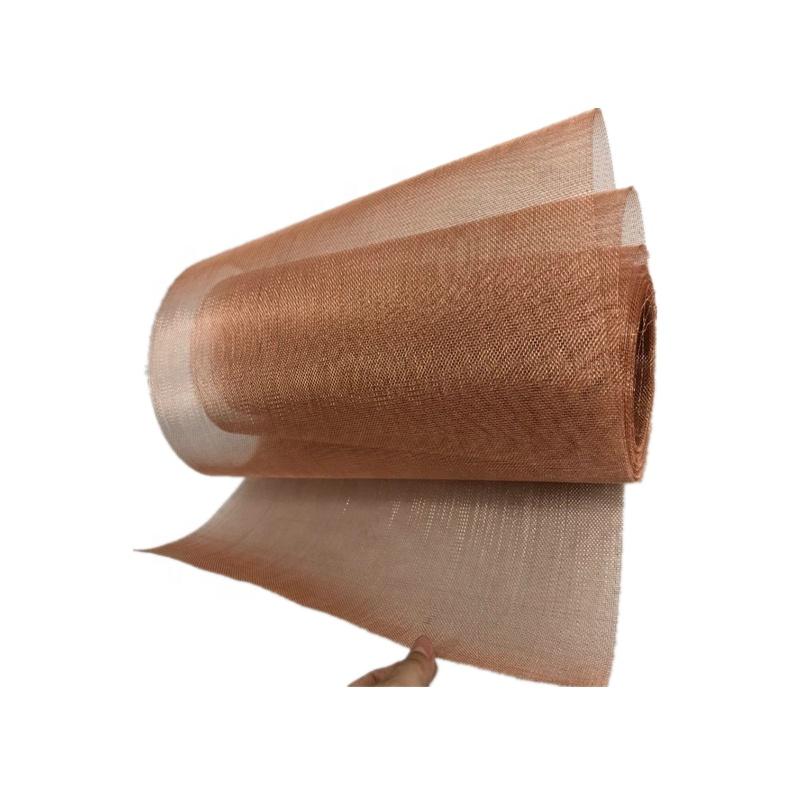 80 100 150 180 200 250 Mesh 99 Pure Copper Filter Screen